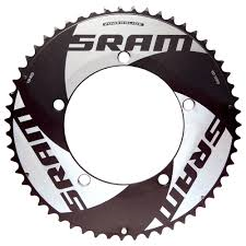 SRAM 130 BCD outer chainring TT 10sp Black