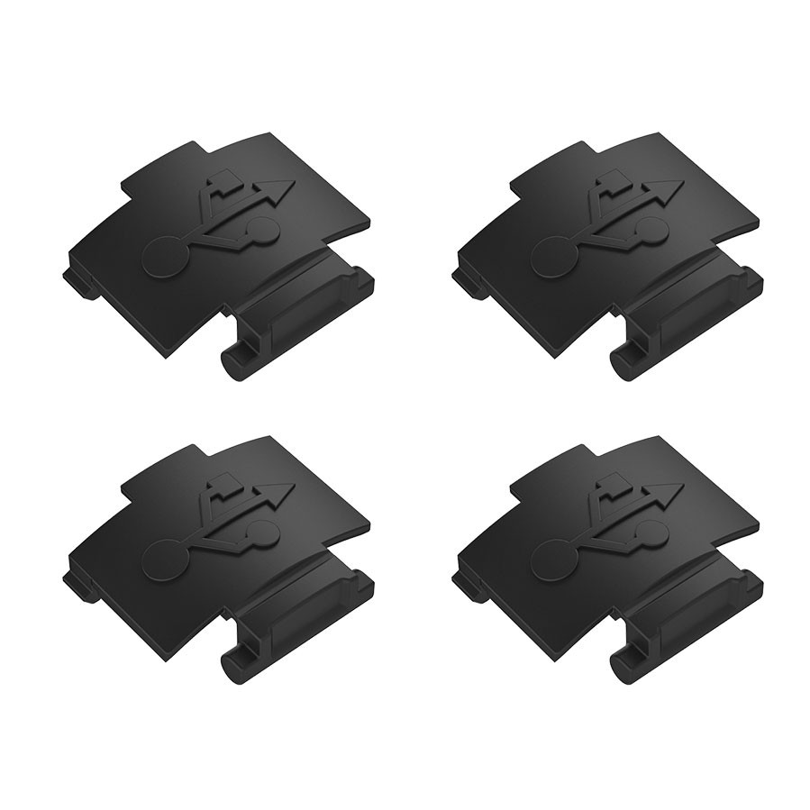Favero bePRO replacement USB covers - 4 pack