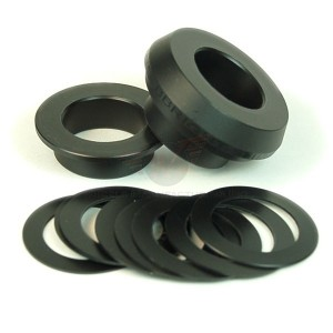 Wheels Manufacturing BBright, BB30a & PF30a Adapter for 24mm Spindle Cranks (Shimano, FSA, etc.)