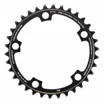 SRAM Chainring Road Red22 11 Speed X-Glide R Yaw S2 Alum 3mm Blast Black 110BCD