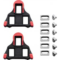 SM-SH10 SPD SL-Cleats, Fixed 0 degree, Red