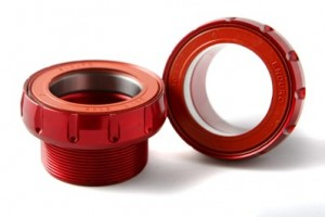 Rotor BSA30 - 68/73mm - ceramic - red