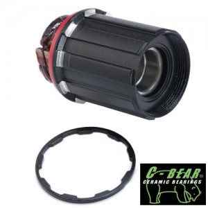 PowerTap 15mm Alloy Freehub - C-Bear Cermaic - Shimano 9/10/11spd
