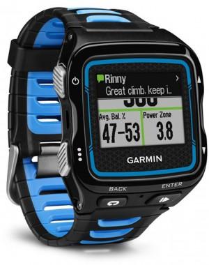 Garmin Forerunner 920XT multisport GPS watch - Black and Blue