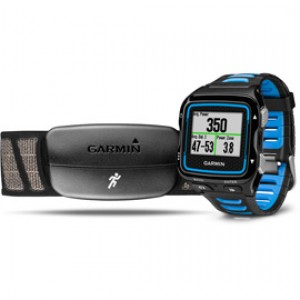 Garmin Forerunner 920XT multisport GPS watch - Black and Blue Bundle