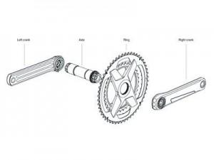 Rotor ALDHU complete crankset