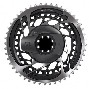 Quarq Powermeter Kit DM Red AXS D1 Polar Grey (Inc. Chainring)